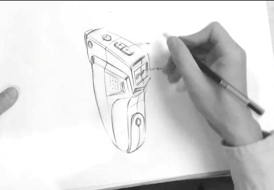 工业品手绘录音笔