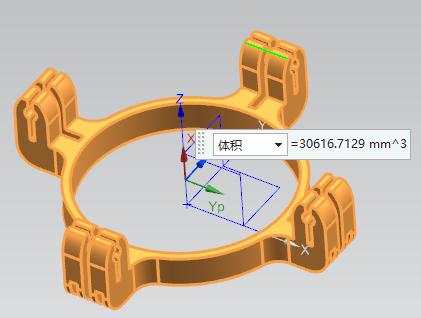 第99讲 NX10实例教程——圆形四爪盘(对称线性阵列实例点编辑)