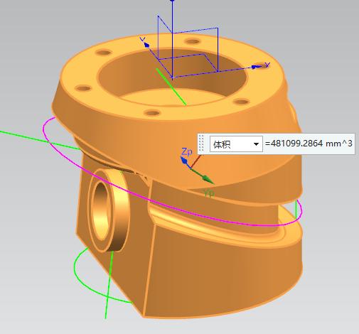第93讲 NX10实例教程——缺口盘座(扫掠和圆角细节处理)
