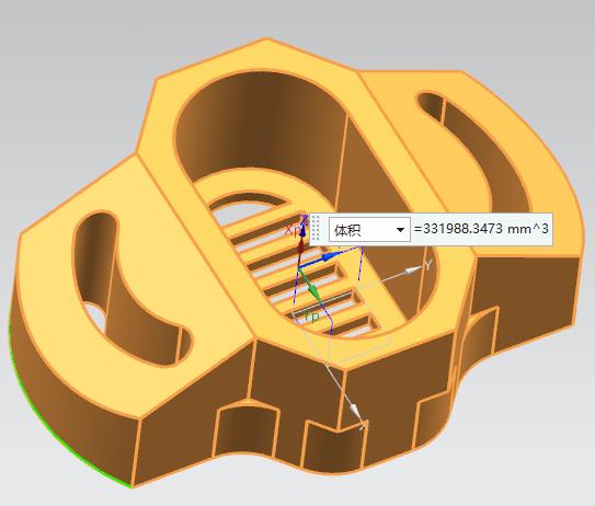第86讲 NX10实例教程——弧形过滤网底座(圆角多个圆角添加修改截断)