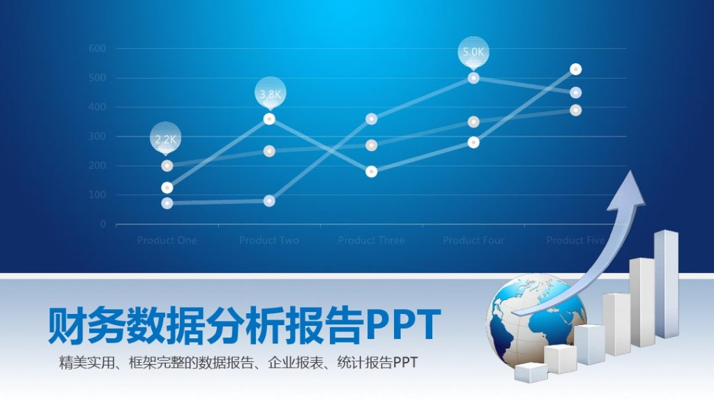 财务数据分析PPT模板